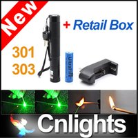 big laser pointer - Big Discount nm Green Laser Pointers Pen Lazer Pointer Light Battery Retail Box Focus Burning Wood Matches