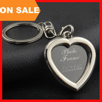 bag picture framing - 6 models photo frame keychain alloy locket picture key chain heart apple key rings heart apple bag pendants fashion jewelry