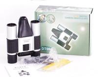 Wholesale Digital Binocular Camera Megapixel Camera x Zoom Micro SD Card Support