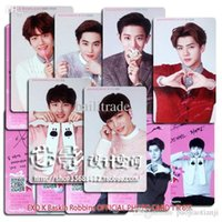 baskin robbins - 1 set pieces EXO Card K Baskin Robbins OFFICIAL PHOTO CARD K team Card album exo kpop hoodie bts