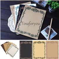 Wholesale Romantic Pattern European Style Ancient Letter Writing Paper Stationery cm cm