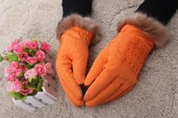 Wholesale Christmas Presents Random delivery New Gloves Knitted Ms Down Cotton Gloves Warm Gloves Ms Fashion Bestsellers