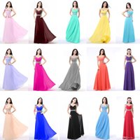 Wholesale Long Chiffon Formal Party Ball Gown Prom prom Dress