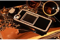 Wholesale Shining diamond DO Perfume Bottle Case with chain for iPhone Plus For Samsung S5 note TPU case Handbag cover