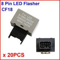 audi brake light flashing - 20PCS CF18 LED Flasher Pin Relay Module Fix Auto Motor Turn Signal Light Error Flashing Blink Max W Toyota Luxus