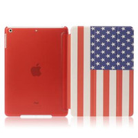 9.7'' auto tote - Colorful Print Paint Magnetic Smart Cover Back Clear Case for iPad mini Air Folding Stand Matte Cases Auto Sleep
