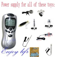 Wholesale Electro sex toys power box Health Care Electrotherapy power supply Electrical dildo anal plug Urethral Sound Power source