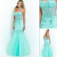 Where to Buy Piece Mint Green Prom Dress Online? Where Can I Buy ...