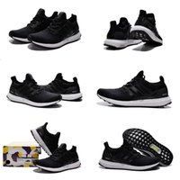 Wholesale 3 Colours With Shoes Box High Quality Ultra Boost Triple White Core Black Shoes Men Women Sport Sneakers Shoes