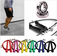 Wholesale Crossfit Adjustable Jump Rope M High Speed Steel Wire Skipping Fitnesss Workout Brand New Good Quality