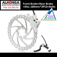 alhonga brakes - 2015 Limited Hot Sale Alhonga hj od04 Mtb Hydraulic Disc Brake System Bicycle bike Oil Press mm With Rotor And Bolts
