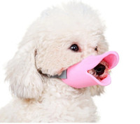 toy duck calls - Lovely Pets Parts Anti Bite Duck Mouth Shape Dog Mouth Covers Anti called Muzzle Masks Pet Mouth Set Bite proof silicone material