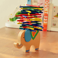 balance nature - Nature Wood Elephant Camel Balance Educational Games Parents And Children Toy Germany Color Bar Game Educational Learning Toys