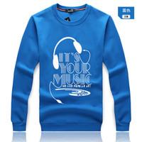Wholesale Hot Selling Winter Autumn Men s Fashion Brand Hoodies Sweatshirts Casual Sports Male headset printing Jackets Hoodies