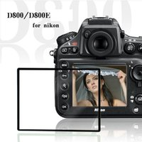 wholesale nikon - Professional LCD Optical Screen Protector Glass for Nikon D800 D800E DSLR Camera w Retail Packaging