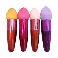 Wholesale High quality Makeup Tools Accessories Cosmetic Lollipop Brushes Set Sponge Drop Brush Cream Foundation Applicators