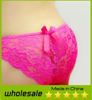 ladies panties - Hot Sale Girls Panties Fashion Women Sexy Lace Floral Printed Panties Bamboo Fiber Ladies Soft and Comfortable Breathable Underwear Briefs