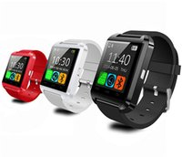 Wholesale 50Pcs New U8 Inch Bluetooth Smart watch mAh Battery Andriod Samsung Galaxy S5 S4 S3 Android Phone