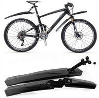 alibaba bikes - 1pair MTB Cycling Bicycle Bike Front Rear Mud Guards Mudguard Fenders Set Black free ship alibaba express