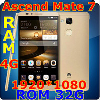 Wholesale 2015 China Copy PHONE unlocked phone Huawei Ascend Mate Phone quot HD Octa Core Android cellphones GB RAM G ROM