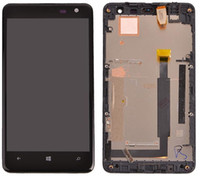 Wholesale For Nokia Lumia LCD Touch Screen Digitizer Assembly Complete Replacement Parts via DHL