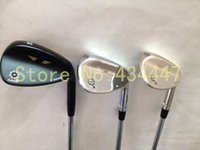 Wholesale golf clubs SM5 wedge degree with steel shaft black silver Champagne golf wedges