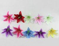 beige walls - 100pcs quot Artificial Lily Head Stamen Flowers Heads For Wedding Bridal Bouquet Home Decoration