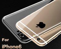 Acheter Caméras minces-Pour Apple iPhone6 Plus TPU Housse souple Protégez la caméra Couverture Crystal Transparent Silicium Ultra Mince Slim Shell pour iPhone 6 4.7