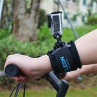 Wholesale Sports Adjustable Degree Rotation Wrist Hand Strap Belt Band Mount for Gopro Hero Hero