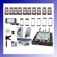 Wholesale Full set inch LCD Separator for iPad Repair Machine LCD Separator Touch Glass Screen Separator Machine for iPad
