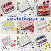 stamps - DHL set Creative cute designs stamp DIY stamp Iron Box multi purpose Decorative DIY funny work