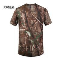 sublimation shirt - Summer Style Polyester Jersey Moisture Wicking Dry Fit Camouflage Army Green Millitary Sport Wear Sublimation Printed Mens T shirt