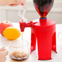 beverage fountains - 2015 New Automatic Switchs Kitchen tools Mini Upside Down Drinking Fountains Cola Beverage Switch Drinker Hand Pressure Water Dispenser