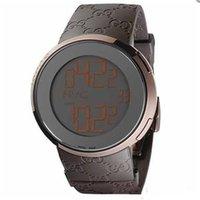 Fashion Unisex Quartz-Battery Luxury brown digital and pointer display Watches mens sport watch GU04