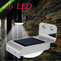 outdoor motion detector - Solar Power Motion Sensor Light Ray LED Detector Outdoor Security Light Wall Park lamp Garden solar LED lamp