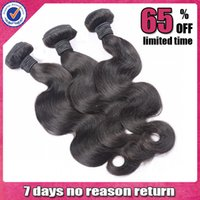 Cheap Brazilian Hair Brazilian human Hair Best Body Wave #1b,natural black color Brazilian hair weave