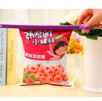 household items - Creative Home Garden Colorful Food Sealed Clip Envelope Clip Plastic Bags Sealing Clip Household Items