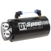 aluminum tanks - Round Billet Aluminum ML Black Racing Engine Oil Catch Reservoir Tank Can CEC_926