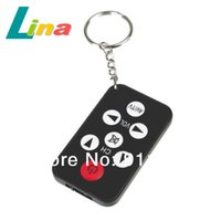 battery tv sets - Universal IR Mini Portable TV Set Infrared Remote Control Keychain with V Battery