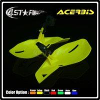 acerbis plastics - ACERBIS Yellow Plastic quot mm Handlebar Hand Guard Handguard Motorcycle Pit Dirt Bike Motocross MX Supermoto WRF ATV Quad RMZ