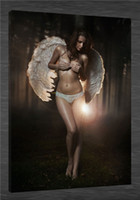 beautiful pictures angels - HD Canvas Print home decor wall art painting Picture NO stretch Beautiful angel x36