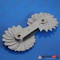 arc welding sets - Welding Gauge Radius gage Fillet set R1 mm Concave Convex arc end internal external