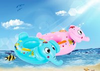 Wholesale Baby Swimming Lap Infant Alar Swimming Ring Bell Double Protection Baby swim ring infants seat