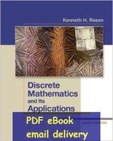 applications mathematics - Discrete Mathematics and Its Applications th edition by Kenneth Rosen