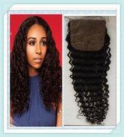 Wholesale Hot Sale silk closure Deep Wave Virgin Hair Percent Hair Extension Virgin Peruvian Hair Cheap Peruvian Hair Bundles Online