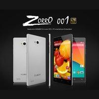 "DHL 3pcs / lot Cubot ZORRO 001 Qualcomm MSM8916 Quad Core Android 4.4 FDD LTE 4G Smartphone 5.0 ""Dual SIM 1G di RAM 8G ROM 8.0MP sbloccato"