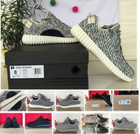 Wholesale Pirate Black Yeezy Boost Kanye West Unisex Running Shoes Oxford Tan Moonrock Yeezys Boots Shoe