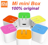 Wholesale Tv Receivers Set Top Box Original Xiaomi Small TV Box MT8685 Quad Core GHz GB DDR3 GB eMMC Android P