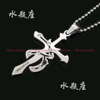 aquarius cross pendant - 2016 Charm European Style Constellation Aquarius Pisces Stainless Steel Pendant Accessories Fashion Jewelry