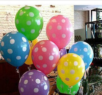 animal print balloons - Polka Dots Balloons Printed Wedding Birthday Party Decorations Balloons For Helium